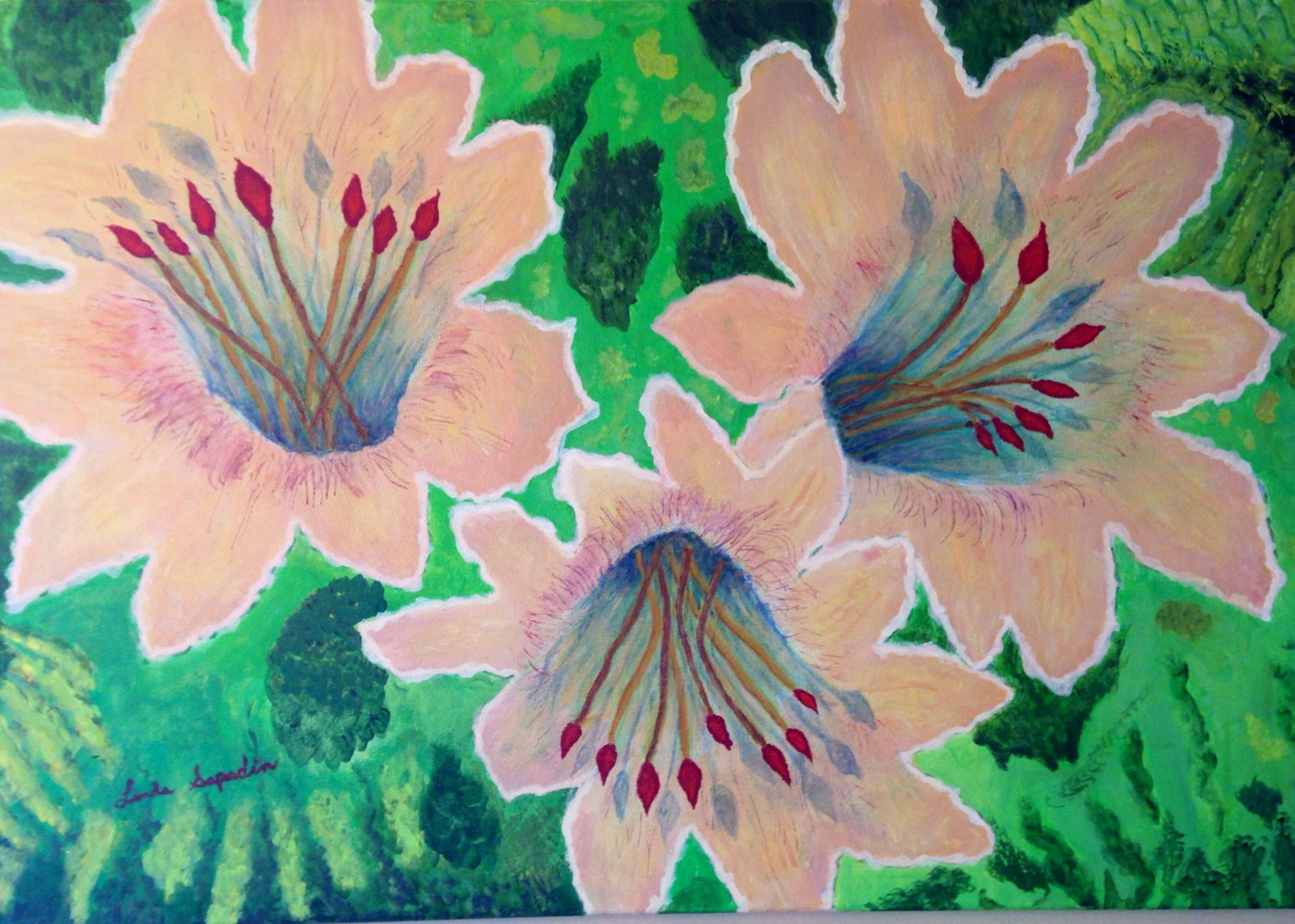 Three Flowers